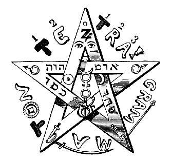 Pentagrama Eliphas Levi